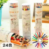 24色 甜蜜蜜色鉛筆 塗鴉