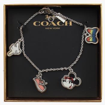 COACH 31235 限量迪士尼聯名款式米妮吊飾手環