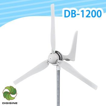 Digisine 專業級水平式1200W風力發電機-48V適用DB-1200