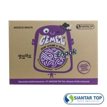韓國 Enaak 奶油洋蔥小雞點心麵 (480g×6盒/箱)