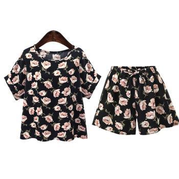 韓國KW  輕美學嬌戀迷花上衣套裝