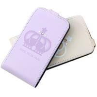 HAPPYMORI SAMSUNG GALAXY S2 寶石皇冠 掀蓋式皮套