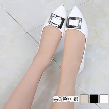 【Alice 】 (預購) 最潮倫敦序曲尖頭平底鞋