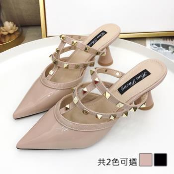【Alice 】 (預購)    獨家款修長美腿中粗跟鞋