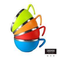 仙德曼 SADOMAIN 森活304不鏽鋼杯碗420ml(4入組)
