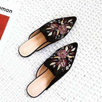 【Alice 】 (預購)   獨家款聘婷秀雅尖頭平底鞋