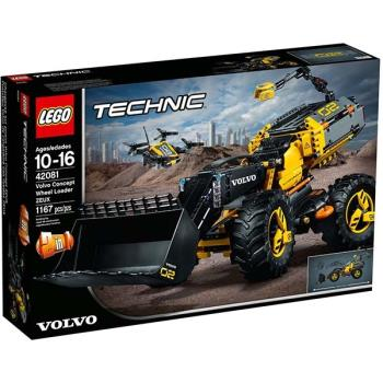 LEGO樂高積木 - Technic 科技系列 - Volvo Concept Wheel Loader ZEUX 42081