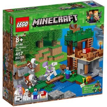 LEGO樂高積木 - Minecraft系列 - The Skeleton Attack 21146