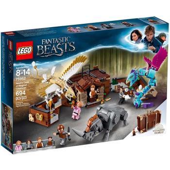 LEGO樂高積木 - Harry Potter 哈利波特系列 - 紐特的魔法生物手提箱 75952