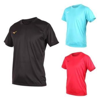 MIZUNO 男排球短袖T恤-慢跑  短T 美津濃