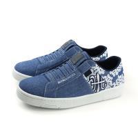 ROYAL ELASTICS 懶人鞋 休閒運動鞋 帆布 藍色 女鞋 92381-550 no575