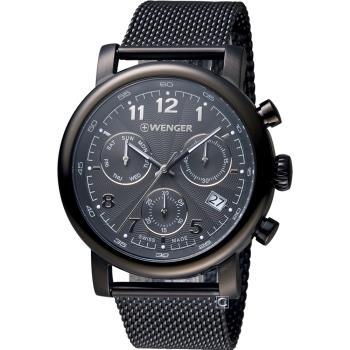 WENGER Urban 經典計時腕錶 01.1043.108