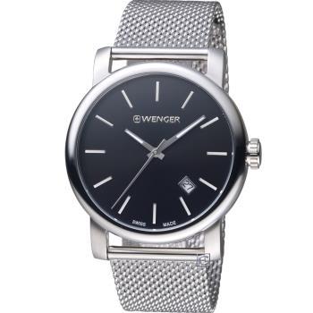 WENGER Urban 經典米蘭帶紳士腕錶 01.1041.140