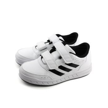 adidas AltaSport CF K 運動鞋 魔鬼氈 白色 中童 童鞋 BA7458 no612