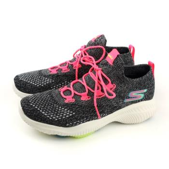 SKECHERS GOWALK REVOLUTION ULTRA 運動鞋 針織 女鞋 灰色 15667BKMT no854