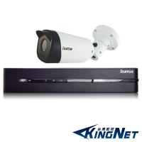 【KINGNET】可取國際 iCATCH 監視器 4路1支 8MP監控套餐 800高清主機 2160P SONY晶片 監視系統 監控設備