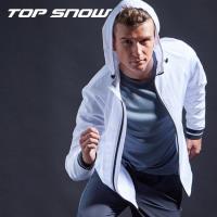 【美國TOP SNOW】長效抗UV排汗機能外套1入-男版