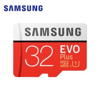 (公司貨)SAMSUNG 三星 EVO Plus microSDHC UHS-1 Class10 32GB高速記憶卡