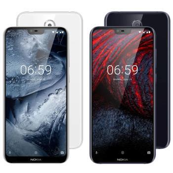 Nokia 6.1 Plus 5.8吋AI智慧雙主鏡頭智慧手機(4G/64G)