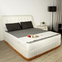 H u0026D 3D表布高循環透氣獨立筒床墊單人加大3.5尺