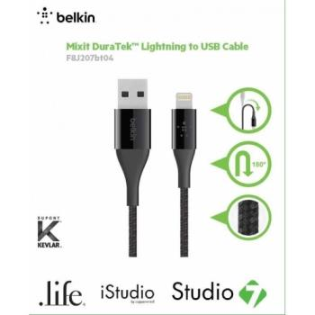 Belkin 2.4A lightning to USB 編織傳輸線