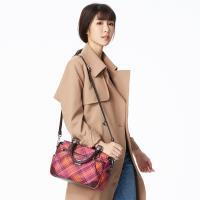【金安德森】ATTITUDE 經典格紋托特包-咖啡色