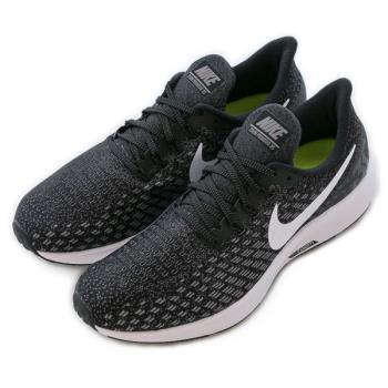 NIKE AIR ZOOM PEGASUS 35 慢跑鞋 正品 942851001 男款 黑白百搭款