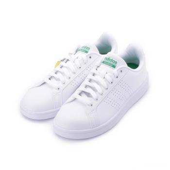 ADIDAS CLOUDFOAM ADVANTAGE CLEAN NEO 復古網球鞋 白綠 AW3914 男鞋 鞋全家福