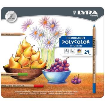【德國LYRA】林布蘭專業油性色鉛筆(36色鐵盒裝)