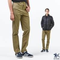 NST Jeans 靜謐的男子 卡其細直紋 休閒男褲(中腰) 390(5649)