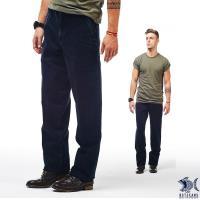 NST Jeans_Italian義式黑幫刺青 斜口袋直筒牛仔男褲(中腰) 390(5632)