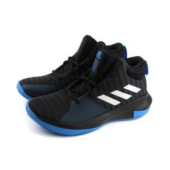 adidas Pro Elevate 2018 K 籃球鞋 運動鞋 黑色 大童 童鞋 AC7624 no602