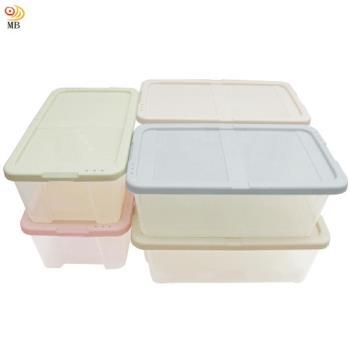月陽多用途半透明鞋盒收納盒整理盒超值6入