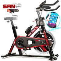 SAN SPORTS 黑爵士18KG飛輪健身車