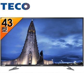 TECO 東元 TL43U1TRE 43吋 4K 液晶顯示器+視訊盒 Smart連網