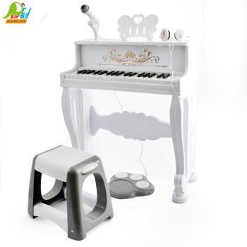 【Playful Toys 頑玩具】高配版鋼琴MX001 高配版鋼琴 兒童高級鋼琴 高配備 鋼琴 內附耳機麥克風 高配備兒童玩具鋼琴 鋼琴玩具
