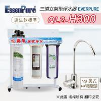 美國原廠 EVERPURE QL2-H300 三道淨水器