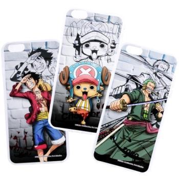 【航海王】iPhone 8 /iPhone 7 (4.7吋) 城牆系列 彩繪保護軟套