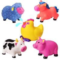 【美國ALEX】可愛噴水洗澡玩具-農場