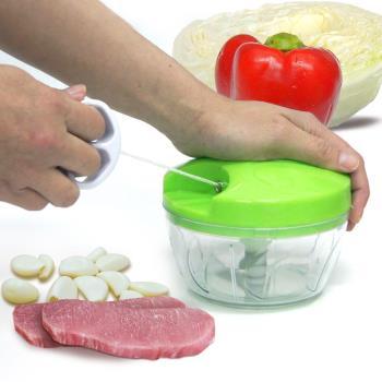 WallyFun 簡易手拉式切菜機 (攪拌器/碎肉機/食物調理器)