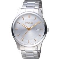 WENGER City 城市系列 經典簡約紳士腕錶 01.1441.105