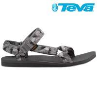 TEVA Original Universal 男休閒涼鞋 圖騰灰 設計師聯名款 TV1004006MXG
