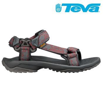 TEVA Terra Fi Lite 男休閒涼鞋 灰紅 TV1001473KGR