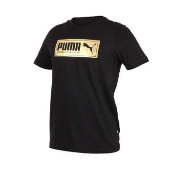 PUMA 男基本系列金牌短袖T恤-慢跑 路跑 短T