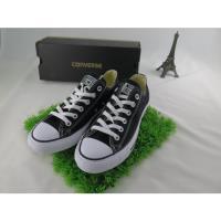Converse 低筒 黑色 基本款 帆布鞋 黑色    isport愛運動全新正品 M9166C
