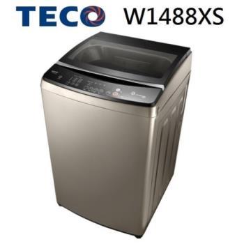 TECO 東元 14KG 淨速洗智能變頻洗衣機 W1488XS(晶鑽銀)
