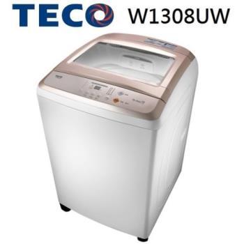 TECO 東元 13KG 人工智慧超音波定頻洗衣機 W1308UW(玫瑰金)