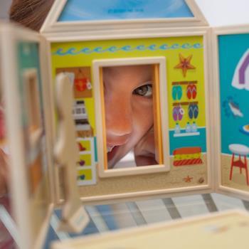 美國 BuildImagine 百變娃娃屋-陽光沙灘