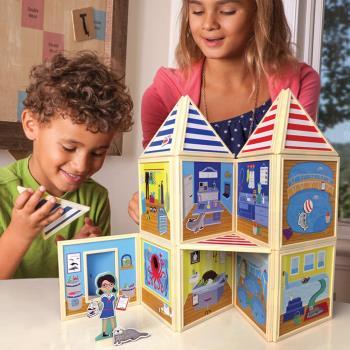 美國 BuildImagine 百變娃娃屋-海上救援中心