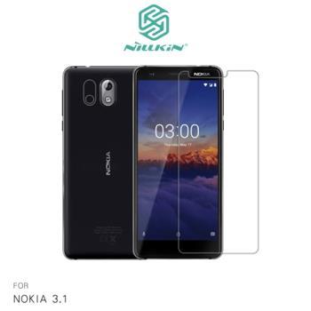 【NILLKIN】NOKIA 3.1 超清防指紋保護貼 - 套裝版